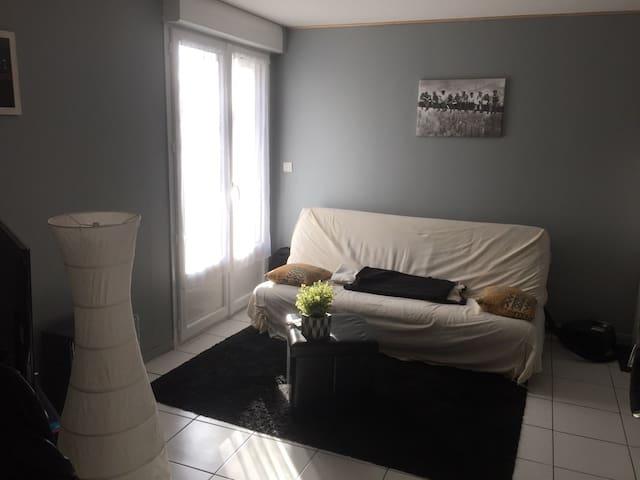 Appartement calme et confortable proche Loire - Couëron - Leilighet