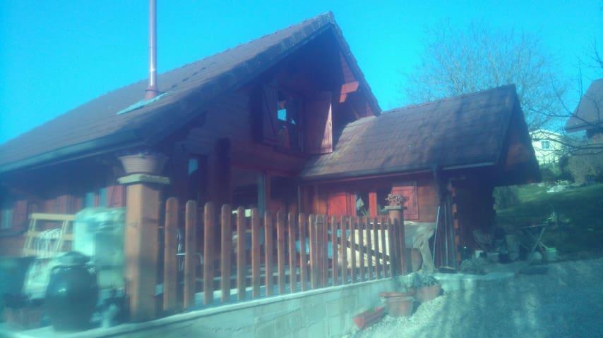 Chalet rustique indépendant - Priay - Chalé