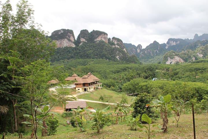 Boon Ya Garden Khao Sok (2 Private rooms) - Phanom - 旅舍