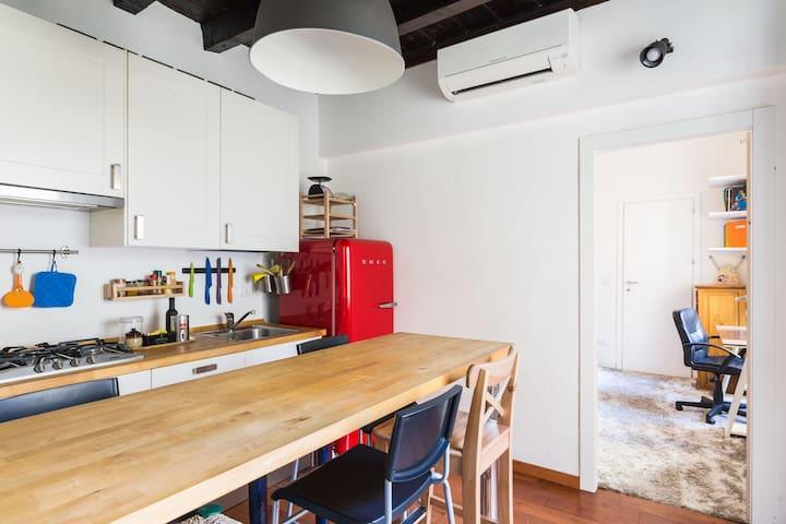 Super double apartment - Milano - Condominium