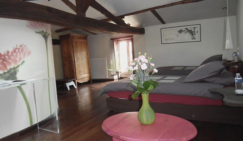 chambre d'hote spacieuse et raffinée - Le Mesnil-en-Vallée