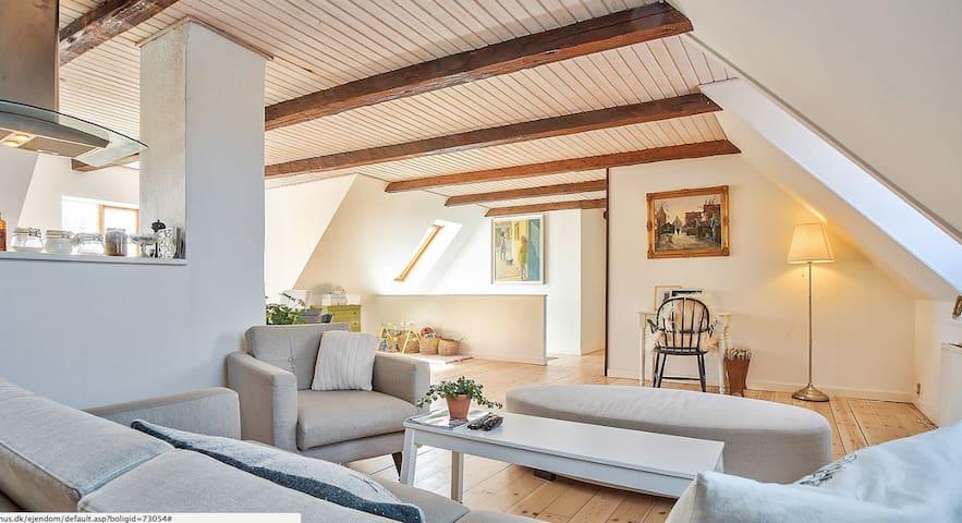 Lovely apartment in center - Nykøbing Falster