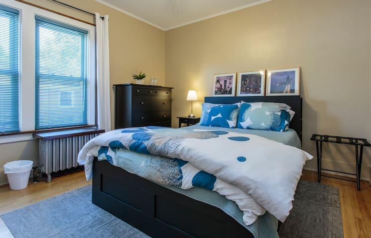 Private rooms & bath on Metra line near O'Hare - Bensenville - Ev