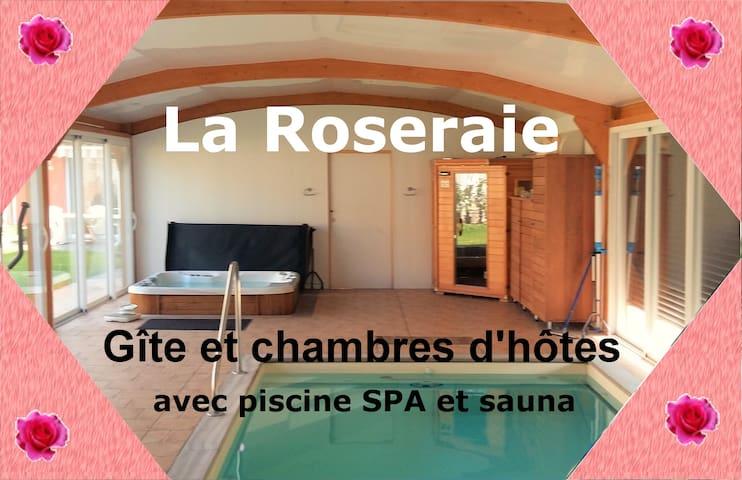 Gîte  la Roseraie de Saint André de l'Eure - Saint-André-de-l'Eure