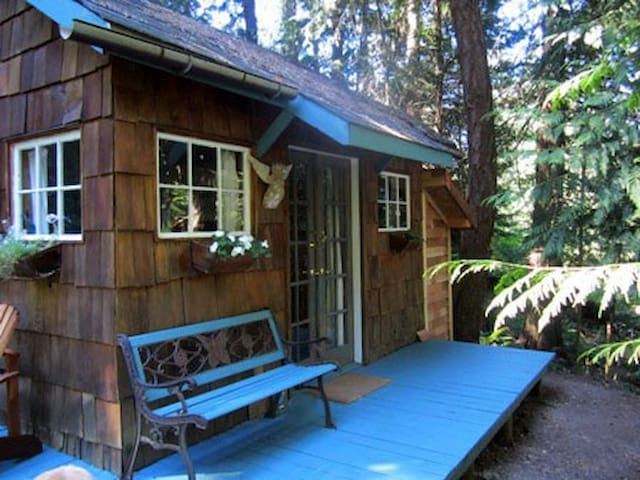 Forest Haven ~ Hot Tub Under The Stars - Salt Spring Island - Blockhütte
