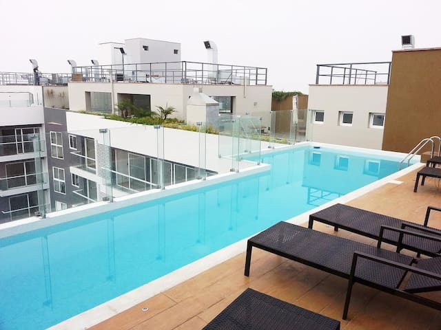 Brand New, Miraflores Luxury Executive Apartment13 - Distrito de Lima - 公寓