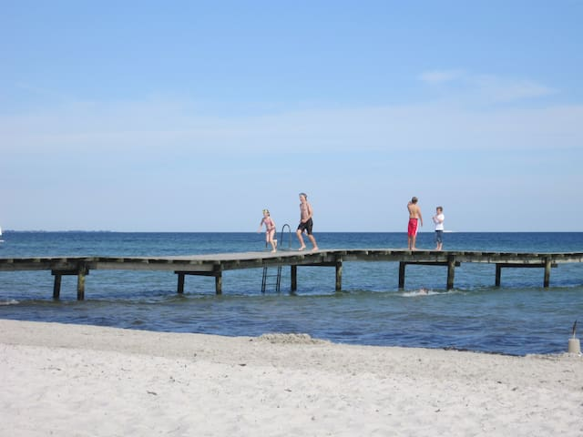 Lovely south-west with own terrace - Skanör