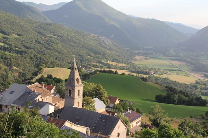 Appartment in a village house - Avançon - Leilighet
