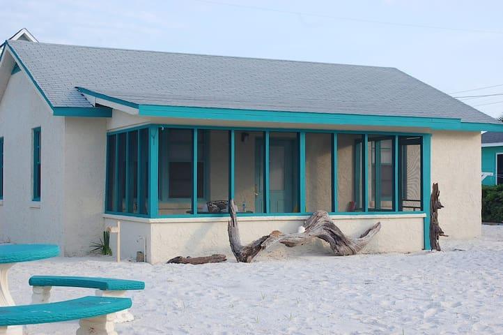 Beach Cottage - beachfront access - Mexico Beach - Ev