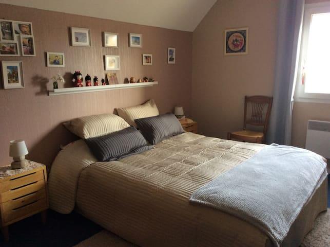 Habitación en una casa familiala - Bayeux - Casa