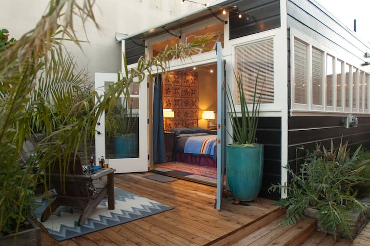 Potrero Hill Garden Cabana - San Francisco - Cabane