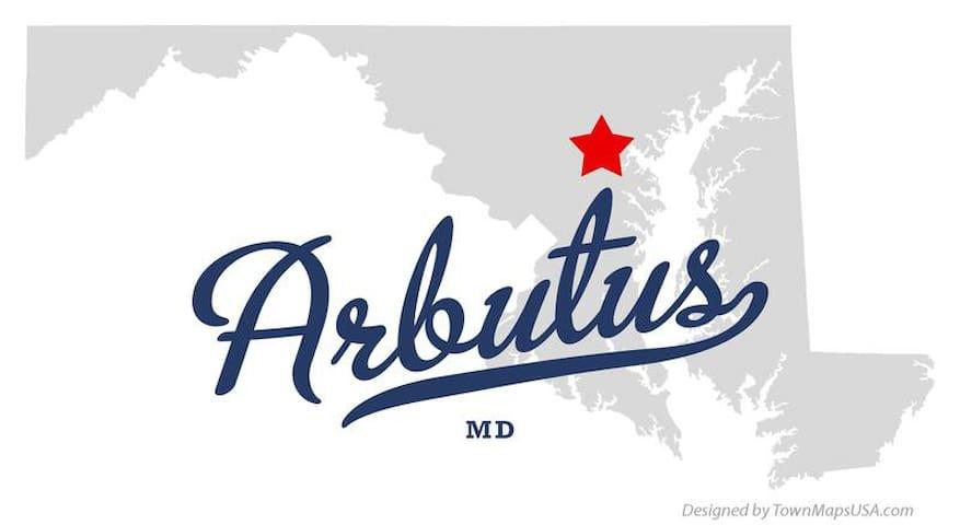 Arbutus getaway - Halethorpe - Hus