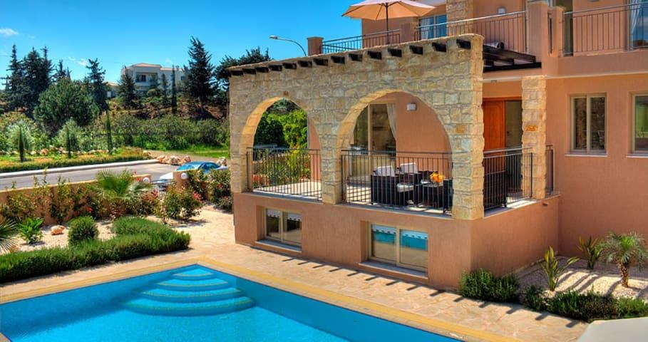 Exclusive Luxury Villa Sandy Beach - Argaka