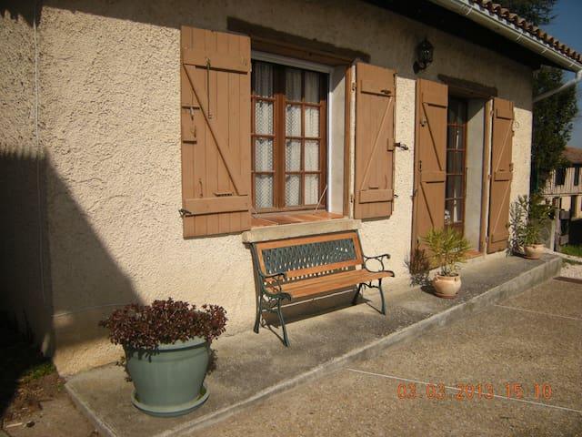 Gite les Rois, 1 double bedroom. - Haute Garonne
