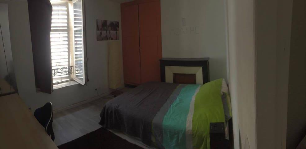 Chambre Privée proche Nancy Gare - Nancy - Appartement
