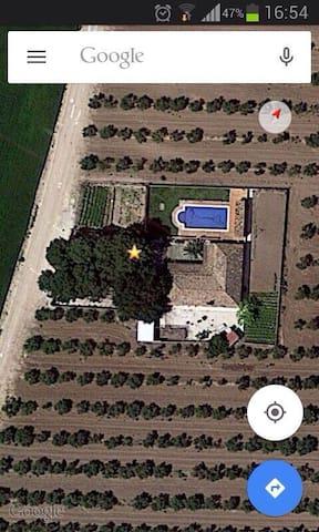 Alquiler casa de campo para grupos en Écija - Sevilha - Casa