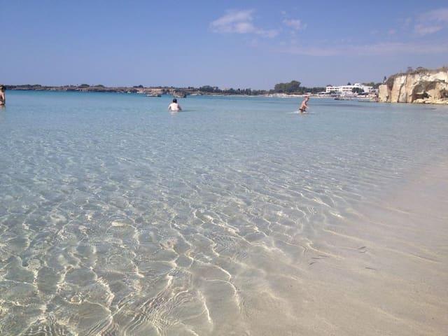 ...a 10 metri dalla spiaggia - Fontane Bianche - Casa