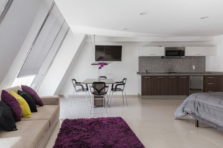 Espectacular loft PH zona Polanco B - Mexico City - Lägenhet