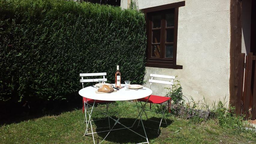 Logement jardin clos Montségur - Montségur - Casa