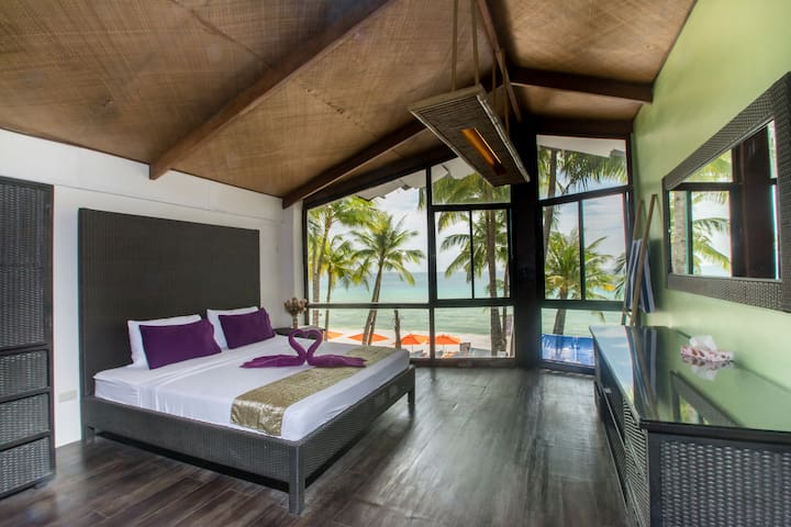 Breathtaking sunset view room on White Beach - Malay - Daire