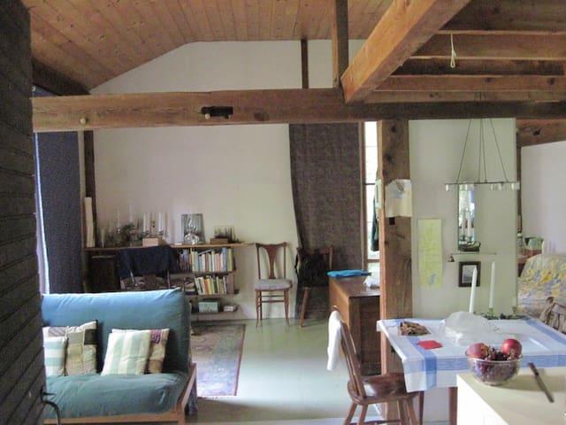 Simple unique cabin - quiet, private, lovely - West Windsor - 小木屋