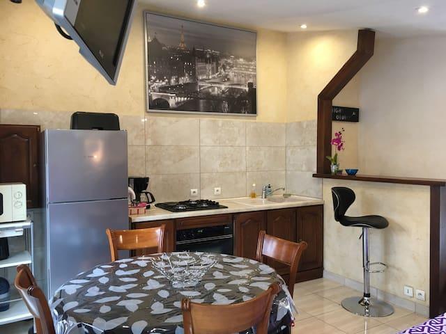 Charming flat with pool near Cannes - Mandelieu-La Napoule - Apartemen