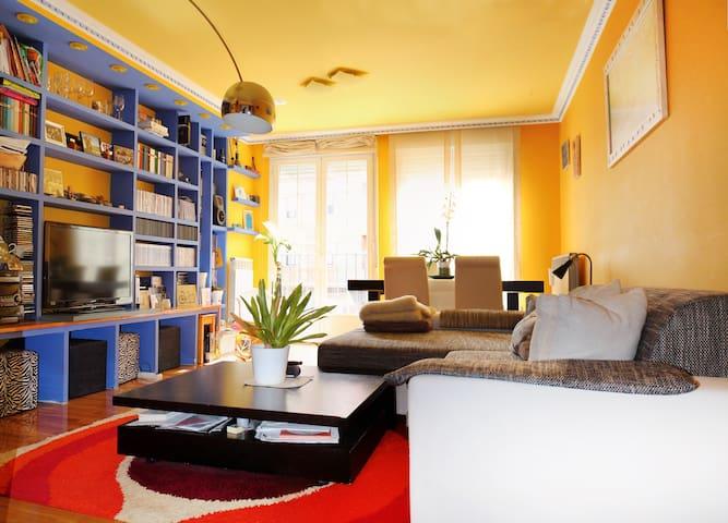 Habitación con balcón y cama de 1'5 - Nájera - Pousada