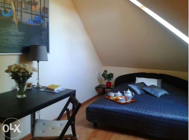 Pokoje na poddaszu w domku jednorodzinnym - Boleslawiec - Bed & Breakfast