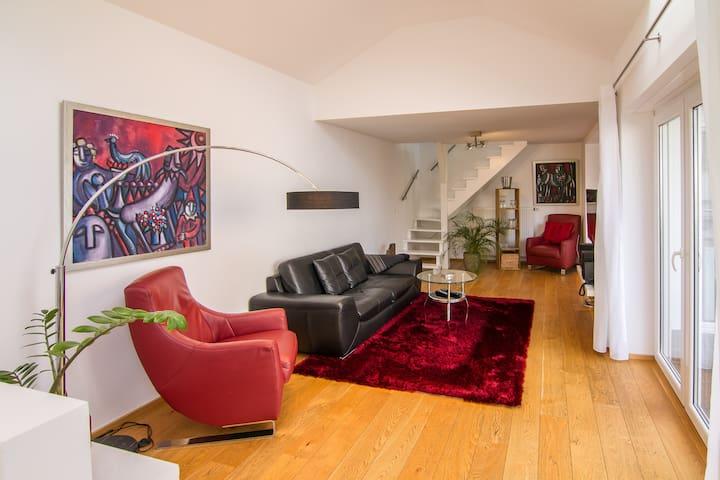 """""""Weisser Turm"""". Modern. Bring your dog. - Bad Neuenahr-Ahrweiler - Apartamento"""
