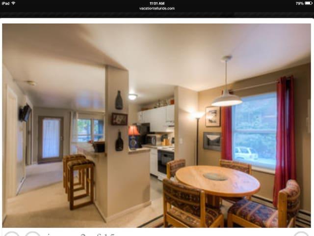 Awesome Two Bedroom Condo In Town - Telluride - Condominium