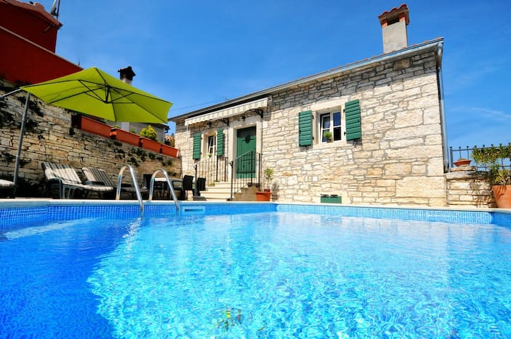Charming stone villa with pool near Porec - Tinjan - Βίλα