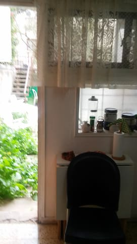 The hidden appartment with a small patio - Rehovot - Huoneisto