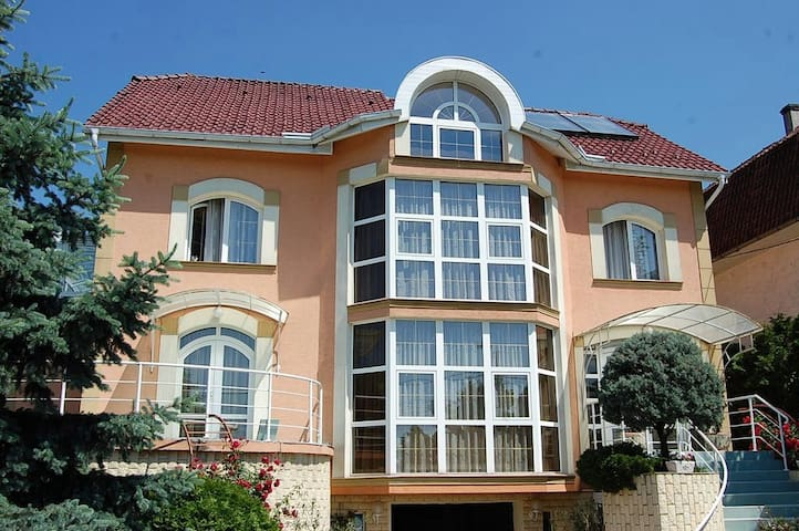 Mansion with 4 bedrooms,garden grill and waterfall - Oradea - Villa