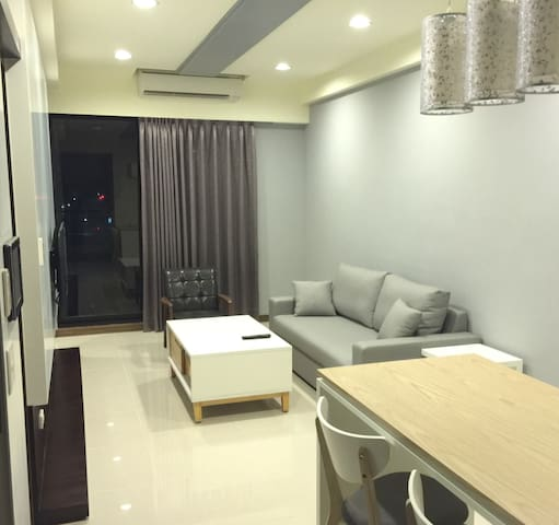 New open -YJ- **Cozy+Clean+Stylish** near 2 subway - Zuoying District - Flat