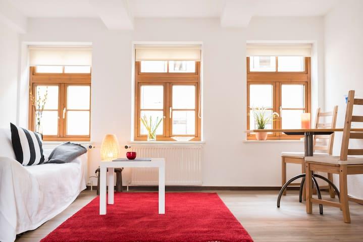 Apartment im Zentrum mit Balkon - Wolfenbüttel - Appartement