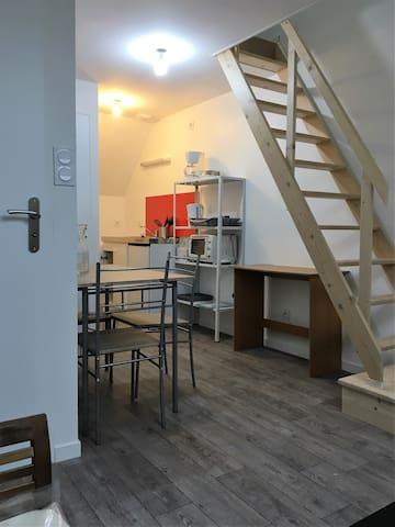 studio duplex de 20m2 - Séné - Lägenhet