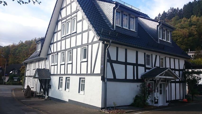 """FeWo """"Aale Huss"""" altes Bauernhaus mit Charme - Netphen - Lyxvåning"""