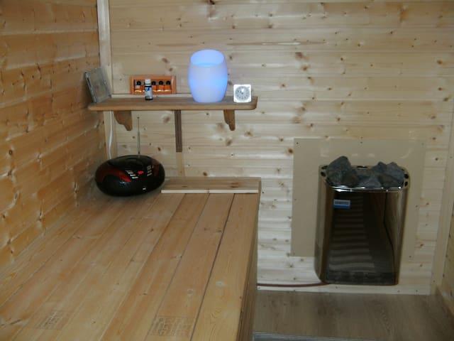 Vakantiewoning Limburg met sauna - Herk-de-Stad - Appartement