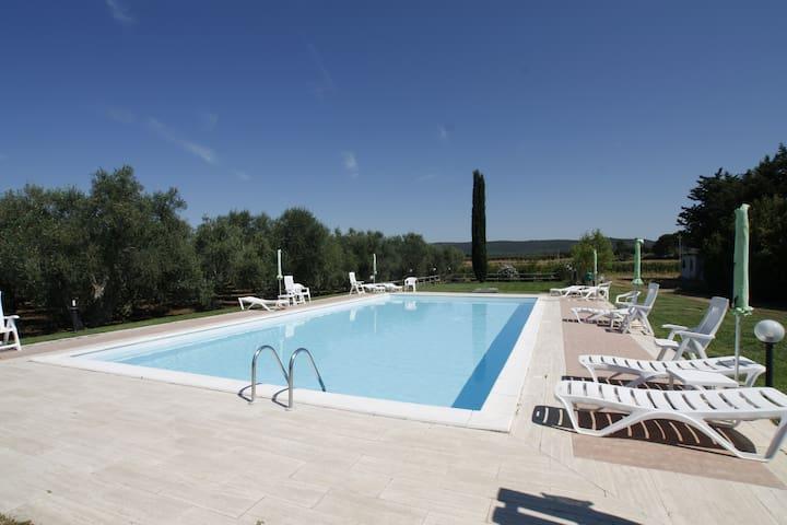 15 km from the Maremman coast - Roselle, Grosseto