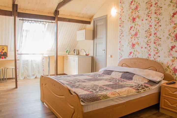 Уютная квартира-студия 3 - Tolyatti - Departamento