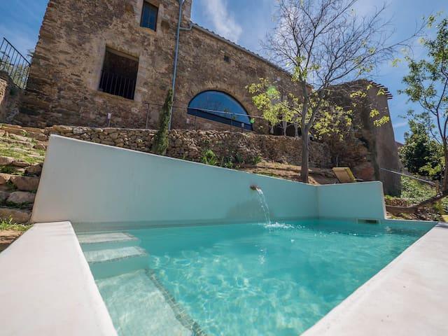 Casa de piedra con encanto y vistas - Palau-saverdera - Haus