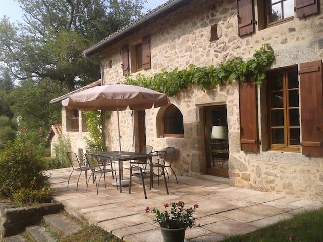 Charming house Périgord (SW France) - Saint-Barthélemy-de-Bussière - Huis