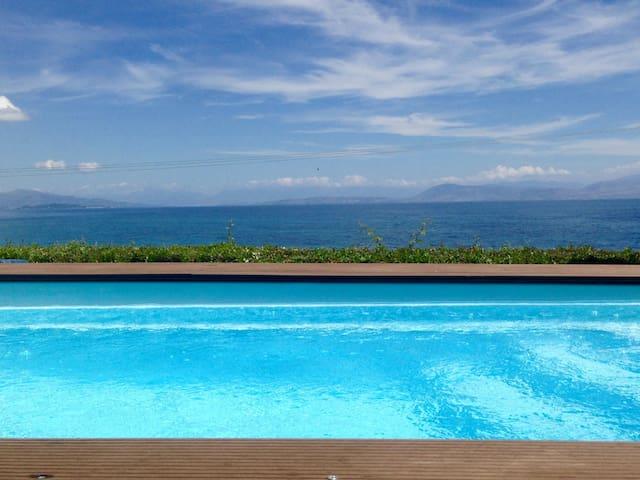 Modern Villa, Private Swimming Pool - Corfu - Villa