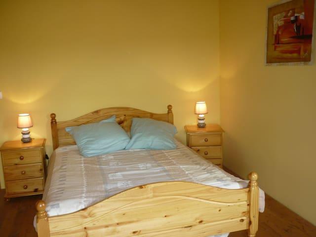 agréable chambre au Carla-Bayle - Carla-Bayle - Hus