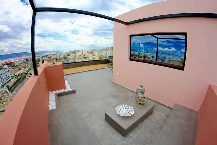 20m² Magical loft with Athens view - Πειραιάς Athens central