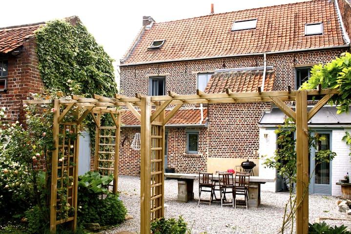 Chambre(s) dans maison de charme proche de Lille - Houplin-Ancoisne - Ev