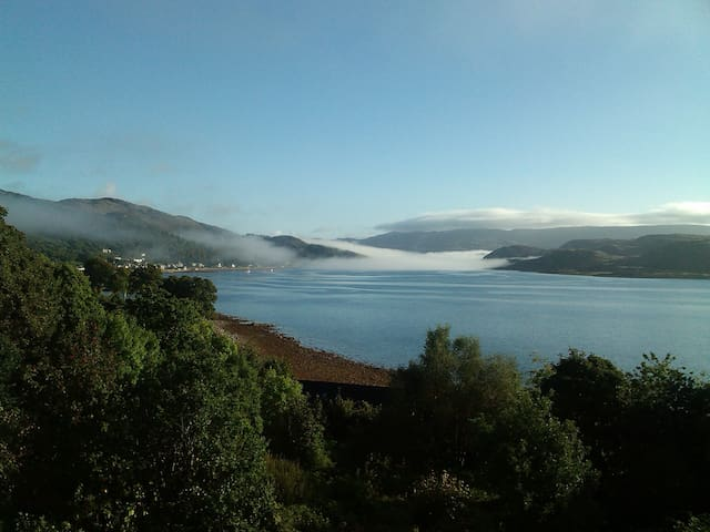 Large house in Argyll with panoramic sea view - Kames