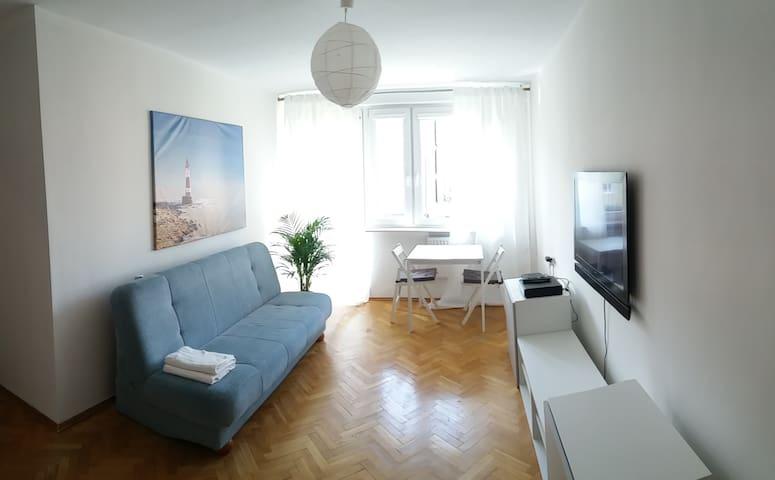 Szampański Apartament nad morzem (Dworska 29) - Gdańsk - Daire