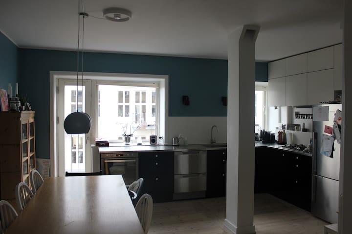 Nice and spacious apartment in Copenhagen - Copenhague - Departamento