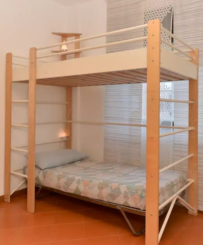 bunkbeds in sharedroom - Rome - Appartement